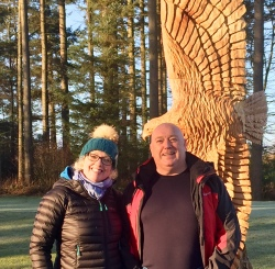 Jill & Gordon the illustrious leaders